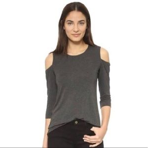 Bailey 44 Deneuve cold shoulder blouse size L
